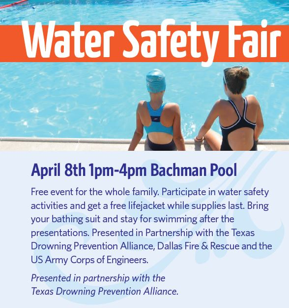 Water safety fair flyer