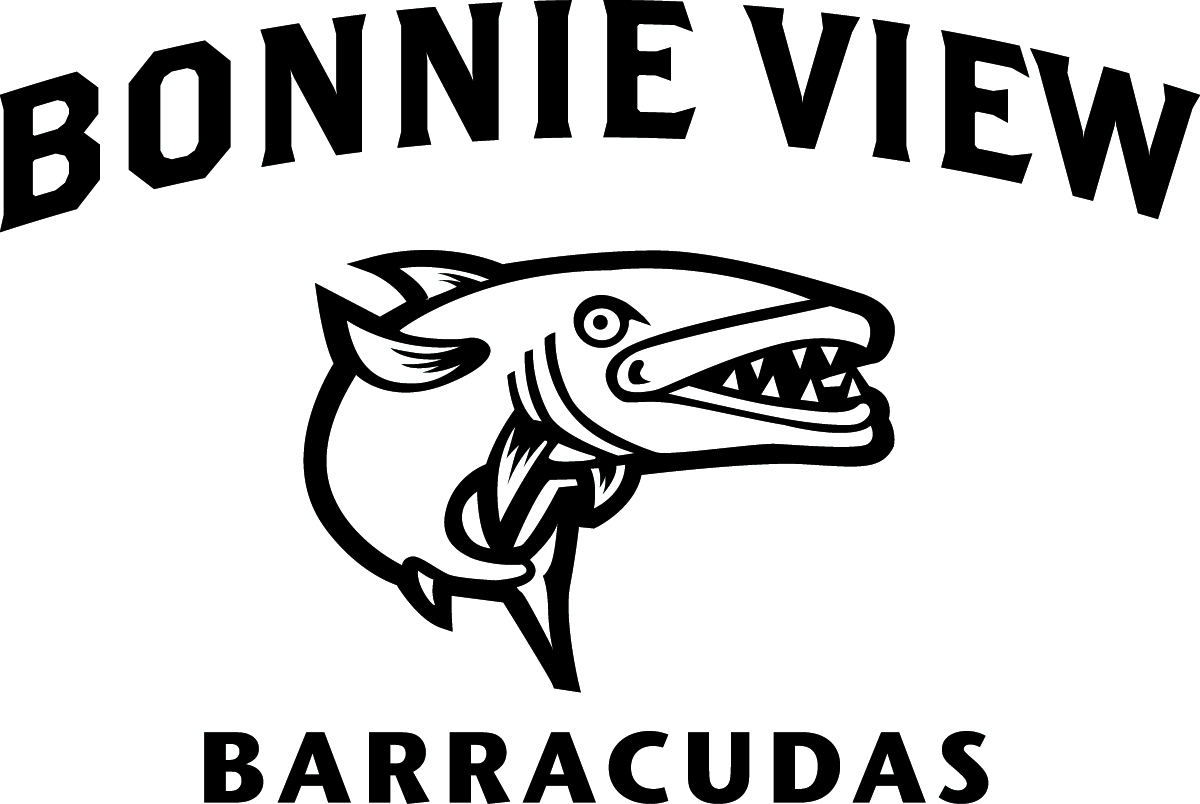 Bonnie View swim team logo