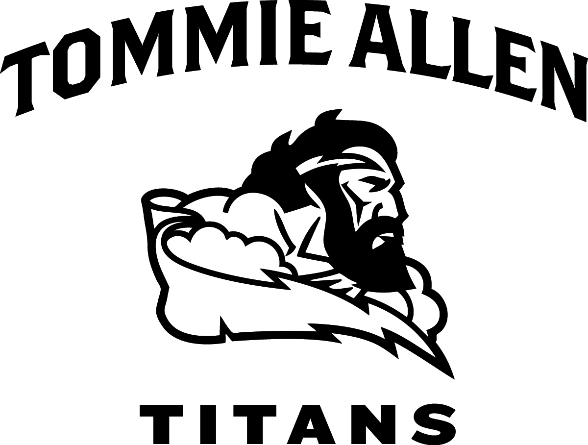Tommie Allen swim team logo