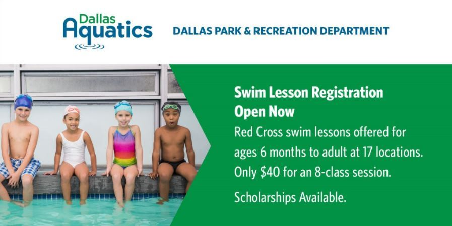 swim lesson registration graphic